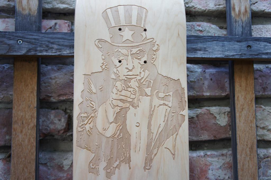 myownboard lasergravierte Skateboards