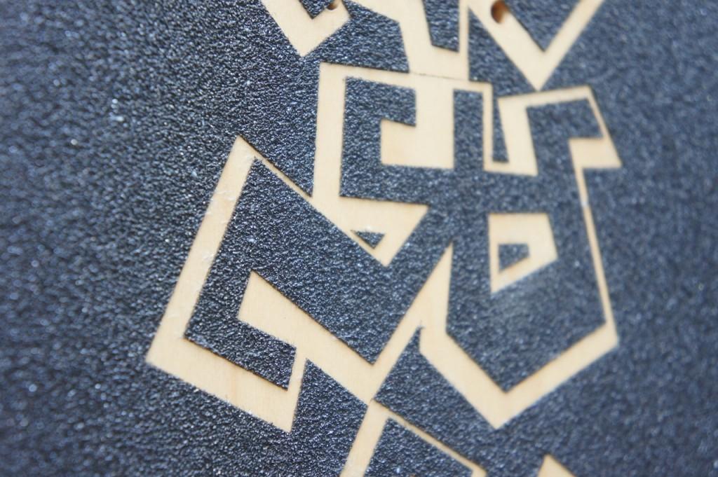 lasergeschnitten griptape, personalisiert - von myownboard.at